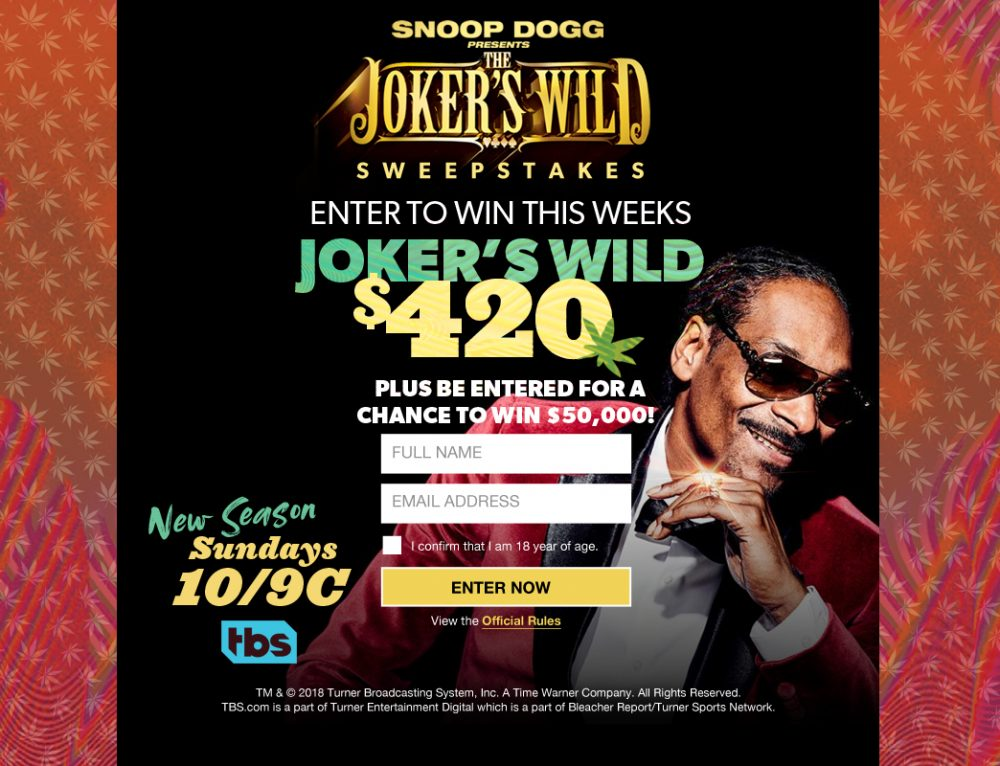 Joker's Wild Promo with Snoop Dogg