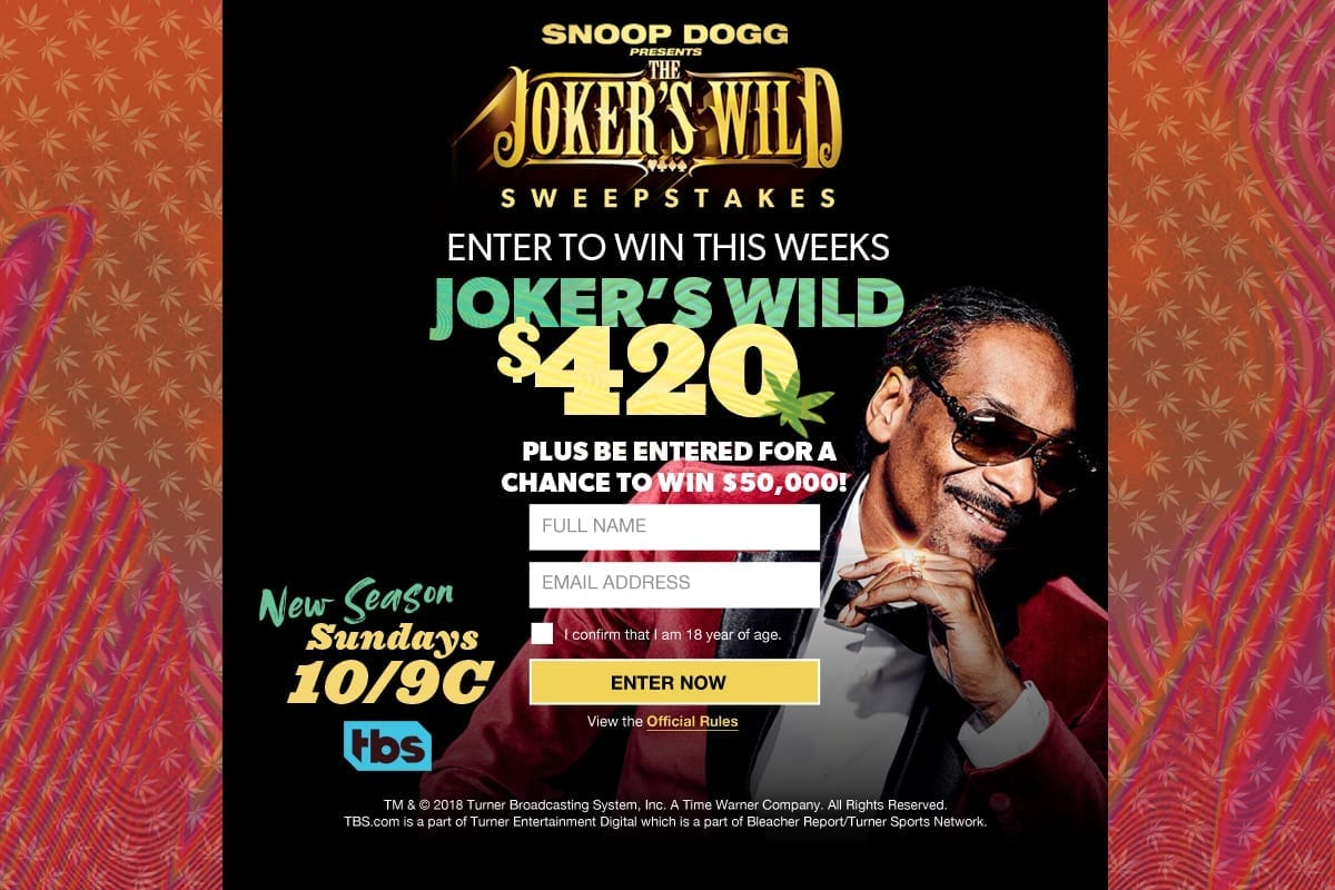 Snoop Dogg Jokers Wild promotion managed by CFA