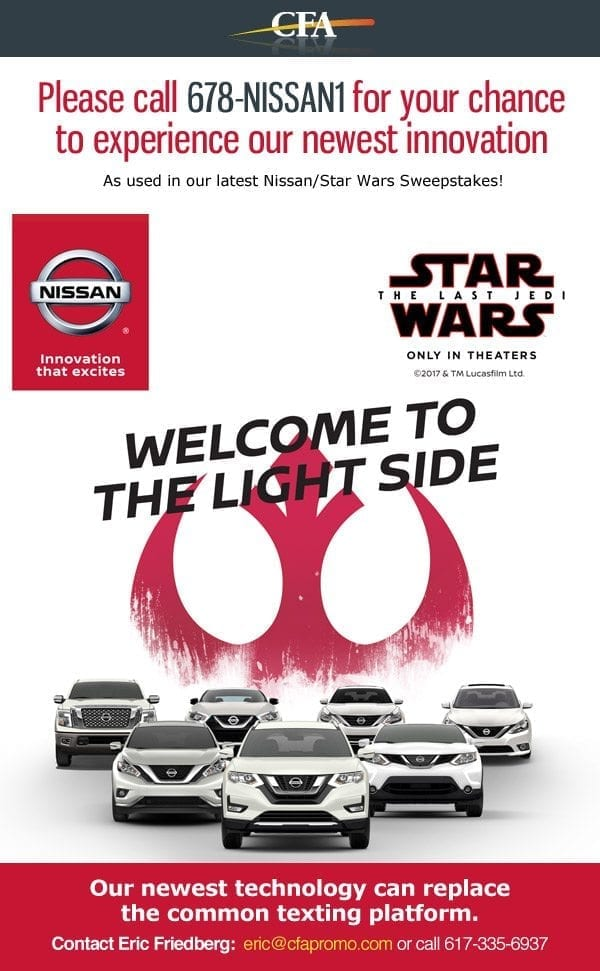 Nissan Light Side Promotion