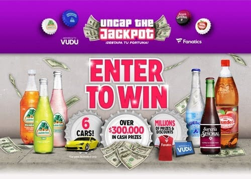 Uncap the Jackpot sweepstakes