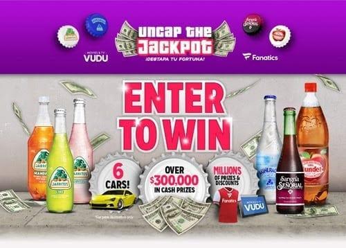 Open A Bottle and Uncap the Jackpot - CFA Promo